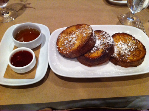 Brioche Pain Perdu (French Toast) from Craftbar, NYC