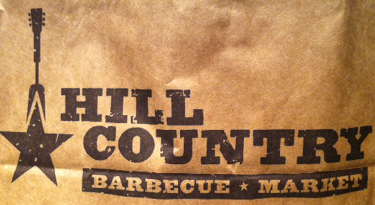 Hill Country Take-out Paper Bag