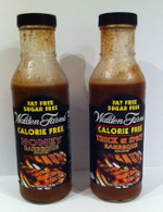 Walden Farms Calorie Free Carb Free Honey and Thick and Spicy BBQ Sauces