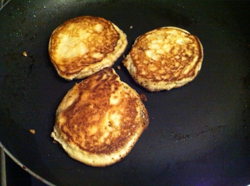 Low Carb Coconut Pancakes