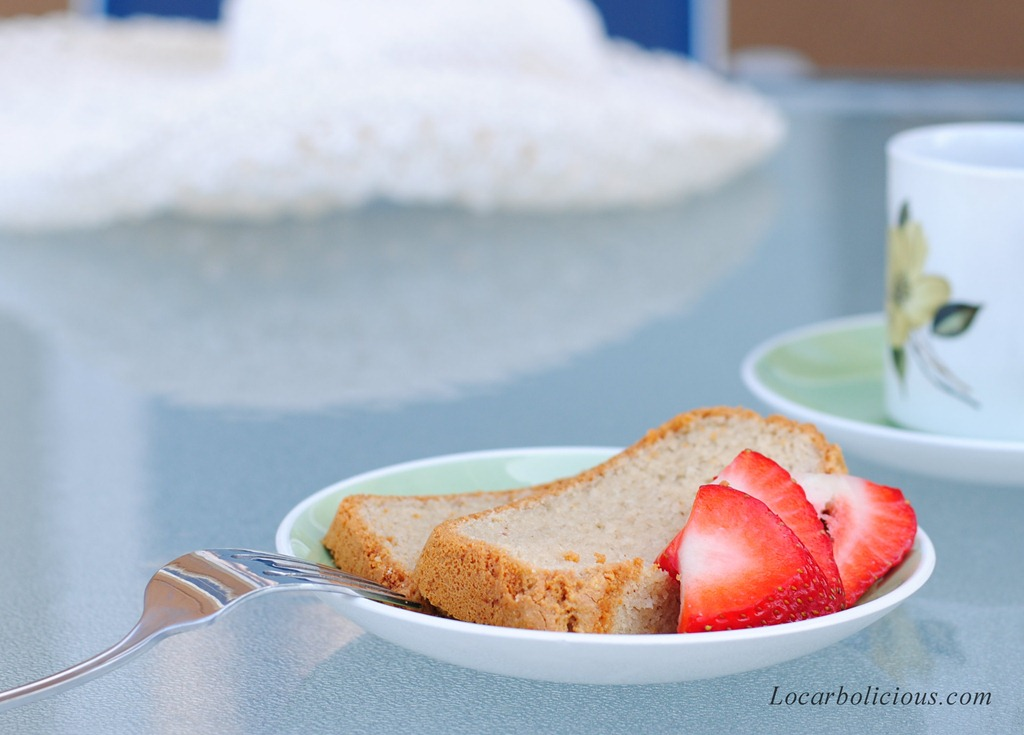 Low Carb Pound Cake Recipes: Vanilla Pound Cake: Grain Free And Sugar Free