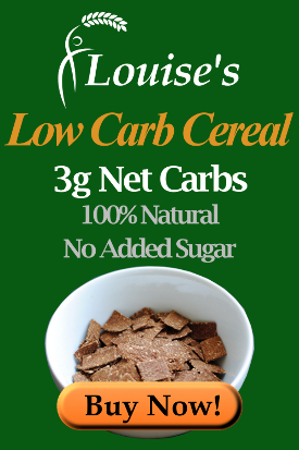 Louise's Breakfast Bites Low Carb Cereal